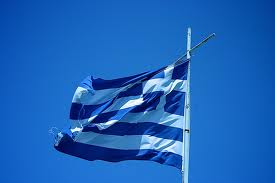 tatty Greek flag